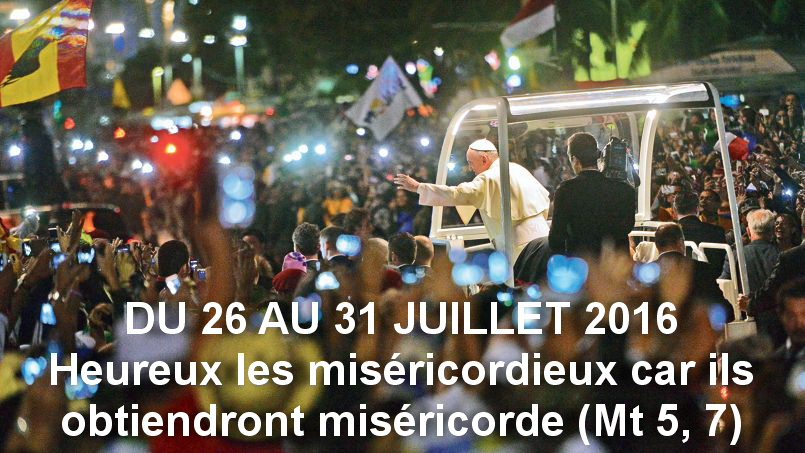 photo jmj du26 au 31 juillet 2016